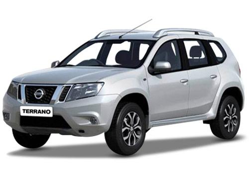 Nissan Terrano в белом цвете кузова