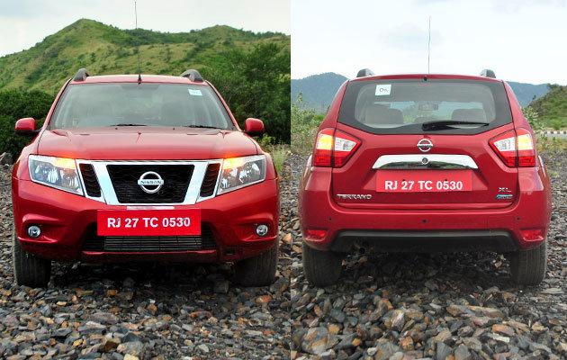 Nissan Terrano оцениваем внешний вид