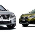 Выбираем между Nissan Terrano и Suzuki SX4