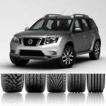 Какие всесезонные шины выбрать для Nissan Terrano