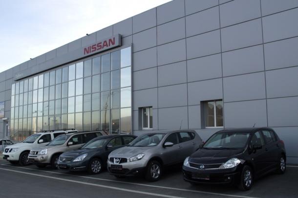 Nissan Terrano v Novorossijske